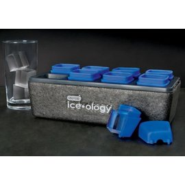 Dexas ice•ology 8 Count Clear Ice Tray Small Cube