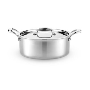 Heritage Steel/Hammer Stahl Heritage Steel 6 Qt Rondeau Pan with Cover