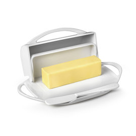 Butterie Butterie Butter Dish White