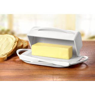 Butterie Butterie Butter Dish White