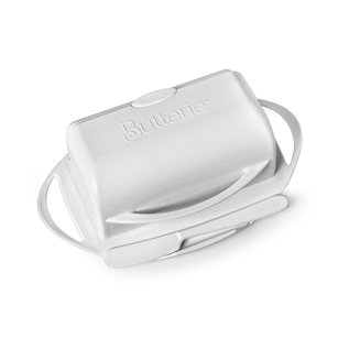 Butterie Butter Dish White