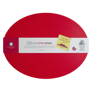 Architec CONCAVE Poly Concave Cutting Board 13 in. x 17 in.  Red