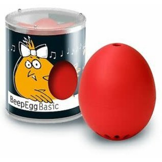 Brainstream BeepEgg Timer Red CLOSEOUT/NO RETURNS