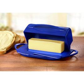 Butterie Butterie Butter Dish Cobalt DISCONTINUED