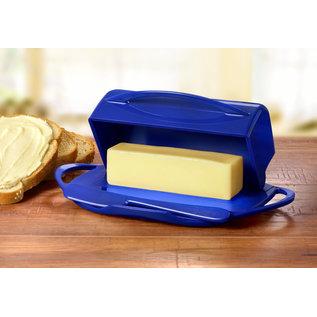 Butterie Butterie Butter Dish Cobalt