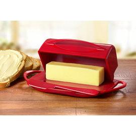 Butterie Butterie Butter Dish Red