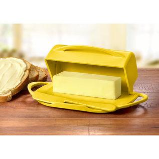 Butterie Butterie Butter Dish Yellow