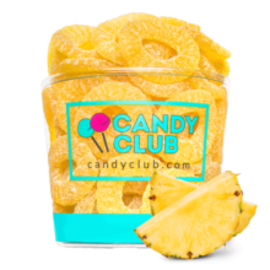 Candy Club Candy Club Pineapple Rings CLOSEOUT