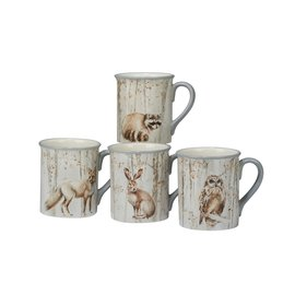 Certified International Certified International A Woodland Walk Mug 18 oz Assorted