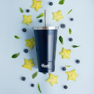 Cheeki USA Cheeki Insulated Tumbler with Straw Ocean 17 oz