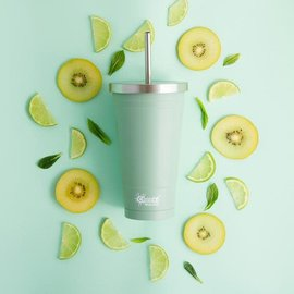 Cheeki USA Cheeki Insulated Tumbler with Straw Pistachio 17 oz