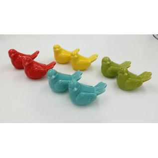 DeRose Designs Derose Designs Bird Salt and Pepper Set Assorted