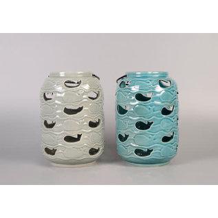 DeRose Designs Derose Designs Whale Lantern Assorted