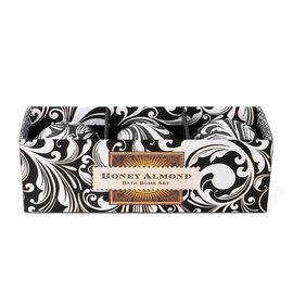 Michel Design Works Michel Design Works Bath Bomb Set Honey Almond