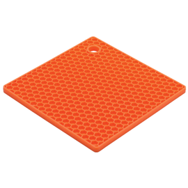 Harold Import Company Inc. HIC Honeycomb Trivet Orange