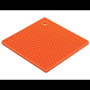 Harold Import Company Inc. HIC Honeycomb Trivet Orange