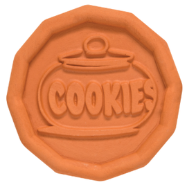 Harold Import Company Inc. HIC Terracotta Brown Sugar Cookie Disk