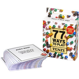 Tenzi Tenzi Cards: 77 Ways to Play Tenzi
