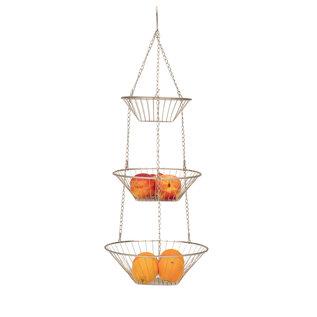 RSVP RSVP Satin Nickel Hanging Baskets