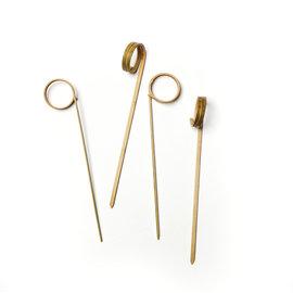 RSVP RSVP Bamboo Ring Picks 4.5 inch (50 ct pkg)