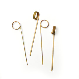 RSVP RSVP Bamboo Ring Picks 4.5 inch