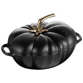 Staub Staub Cast Iron Tomato Cocotte 3 Qt. Matte Black