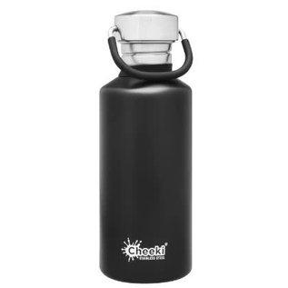 Cheeki USA Cheeki Classic Single Wall Bottle Matte Black 17 oz