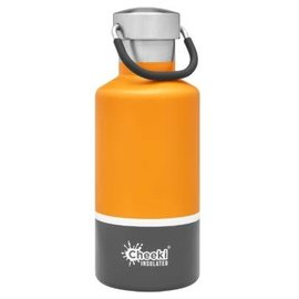 Cheeki USA Cheeki Classic Insulated Bottle Sunshine + Grey 13 oz CLOSEOUT/ NO RETURNS