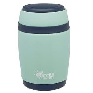 Cheeki USA Cheeki Insulated Food Jar Pistachio White 16 oz