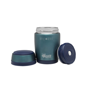 Cheeki USA Cheeki Insulated Food Jar Blue 16 oz