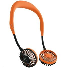 Time Concept, Inc. Time Concept Wfan Wearable Hands Free Fan Orange