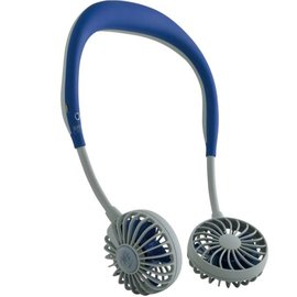 Time Concept, Inc. Time Concept Wfan Wearable Hands Free Fan v2.0 Navy