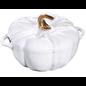Staub Staub Pumpkin Cocotte 3.5 Qt White