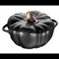 Staub Staub Pumpkin Cocotte 3.5 Qt Matte Black