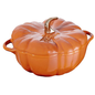 Staub Staub Pumpkin Cocotte 5 Qt Burnt Orange