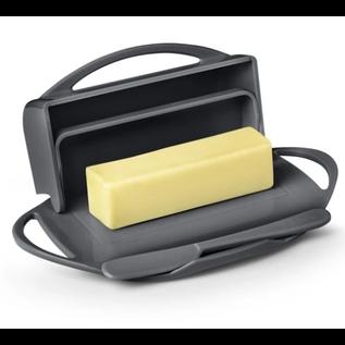 Butterie Butterie Butter Dish Gray