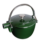 Staub Staub Teapot Round 1Qt Basil