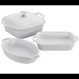 Staub Staub Ceramic Mixed Baking Dish 4pc Set White