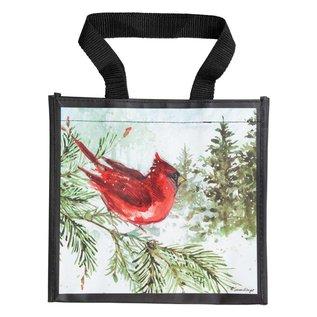Brownlow Gifts Susan Winget Gift Bag Cardinal