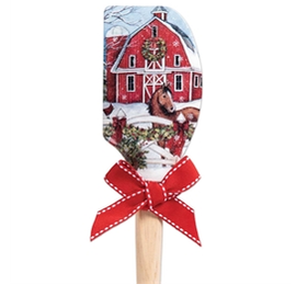 Brownlow Gifts Susan Winget Spatula Barn With Horse