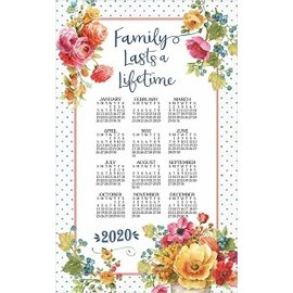Kay Dee Calendar Towel 2020 Country Fresh