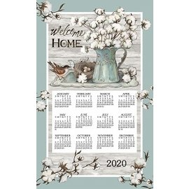 Kay Dee Calendar Towel 2020 Cottonwood