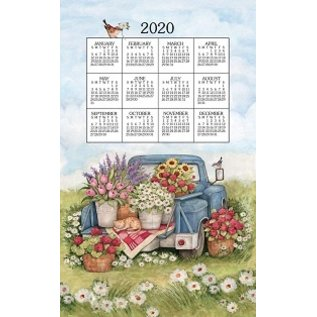 Kay Dee Calendar Towel 2020 Flower Truck