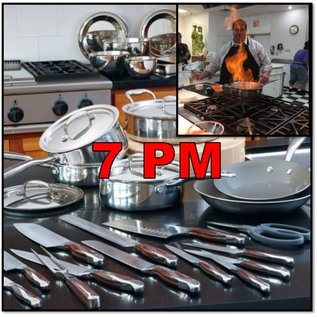 Heritage Steel/Hammer Stahl CLASS: Knife Skills 101 featuring How to Carve a Turkey  THURSDAY, November 21, 2019 @ 7pm