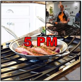 Heritage Steel/Hammer Stahl CLASS: Holiday Cooking Made Simple THURSDAY, November 21, 2019 @ 5pm