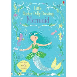 Usborne Usborne Little Sticker Dolly Dressing Mermaids