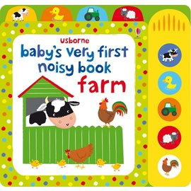 Usborne Usborne Babys Very First Noisy Farm Book