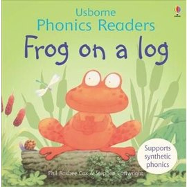 Usborne Usborne Frog on a Log Board Book with Flaps