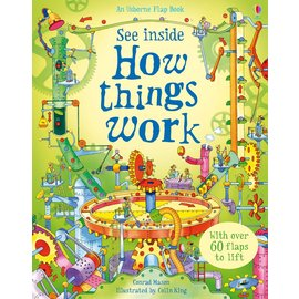 Usborne Usborne See Inside How Things Work IR