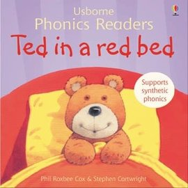 Usborne Usborne Ted in a Red Bed